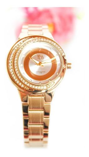 Reloj Yess Original Dama Mujer Acero Inox + Envío Gratis
