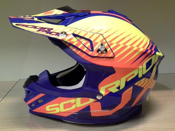 Capacete Motocross Scorpion Exo Vx-15 Evo Tamanho M (57-58)