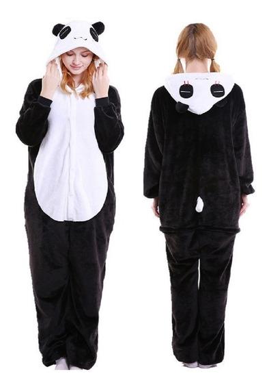 Pijama Do Panda Kigurume A Pronta Entrega