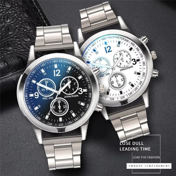 Relógio De Luxo Masculino Moda Simples Relógio De Quartzo