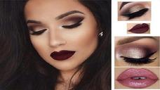 Curso De Maquillaje Cejas Ojos Y Labios 100% Profesional