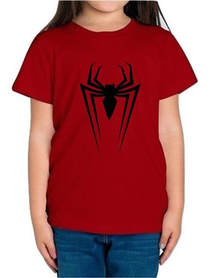 Playera Spiderman Hombre Araña Niña