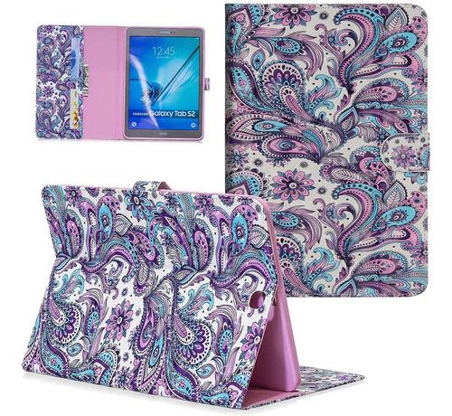 Uucovers - Cartera Tipo Folio Para Samsung Galaxy Tab S2,...