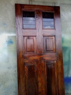 Puertas De Madera Principales Hogar Y Muebles En Mercado Libre