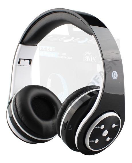 Radio Rm Sd Card Fone Ouvido Favix Fx-b06 Orignal Bluetooth