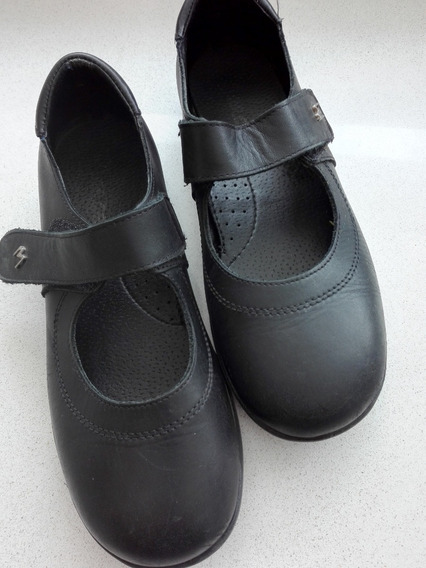 Zapatos Marcel - Guillermina Art. 310 - Cuero Negro 36