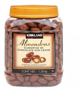 Almendras Cubiertas De Chocolate Con Leche 1.36kg Kirkland