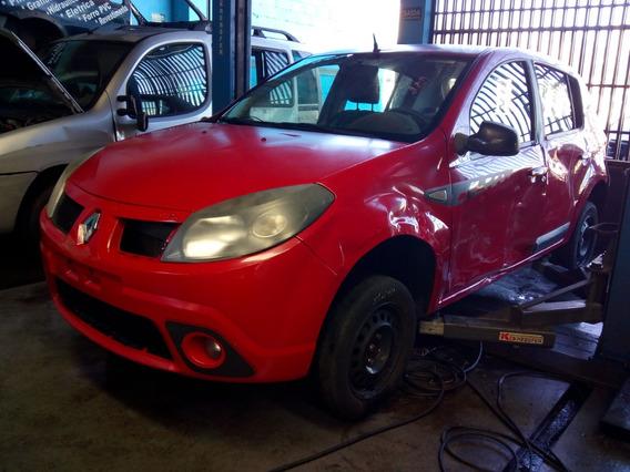 Sucata Renault Sandero Gt Line Hi-flex 1.6 16v Retirada Peça