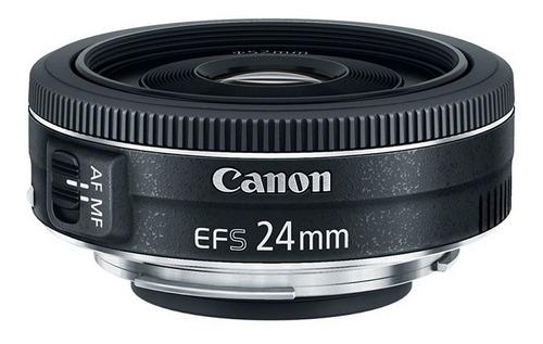 Lente Canon Ef-s 24mm F2.8 Stm Pancake Com Nf 1 Ano Garantia
