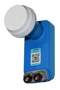 Lente Lnb Azul Antena Directv. Hd, Dual, Nuevos