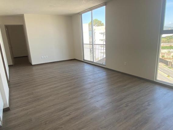 Departamento En Renta -plazuela Del Fresno - La Carcaña - Cerca De La Udlap