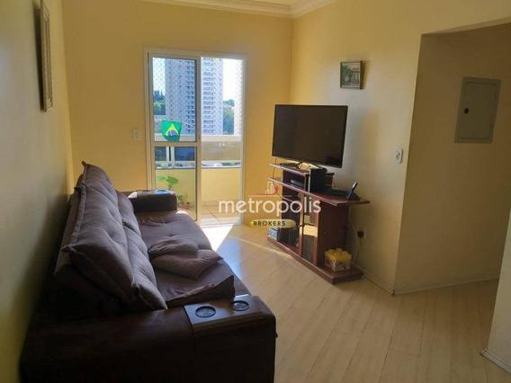 Apartamento À Venda, 94 M² Por R$ 460.000,00 - Santa Maria - São Caetano Do Sul/sp - Ap2047