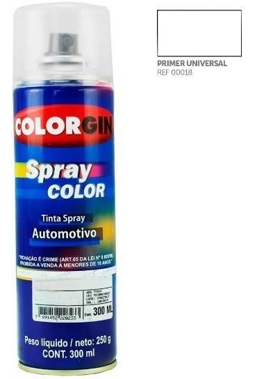 Verniz Ou Primer Em Spray Automotivo Colorgin 300ml