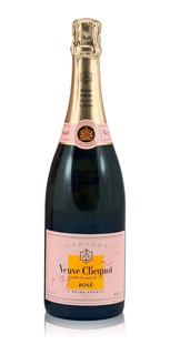 Champaña Champagne Veuve Clicquot Rose 750ml Chardonnay