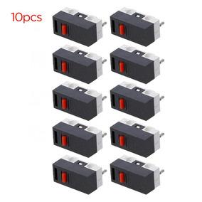 10pcs Botão Interruptor 3 Pinos Interruptor De Mouse Micro-i