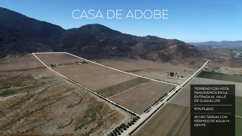 Imagen 1 de 1 de Valle De Guadalupe - Casa De Adobe
