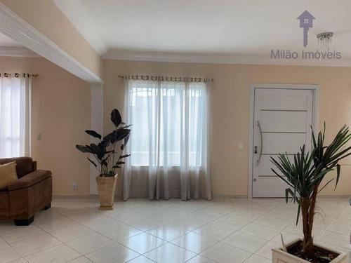 Sobrado 3 Suítes À Venda, 450m², R$980.000,00 Jardim Pagliato Em Sorocaba/sp - So0304