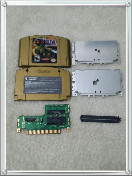 Zelda Majora´s Mask Dourada Label Holográfica N64 (leia!)
