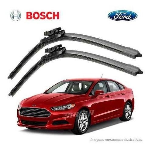 Imagem 1 de 6 de Paleta Para-brisa Original Bosch Ford Fusion 2013 14 A 2018