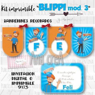 Blippi Cumpleaños En Mercado Libre Argentina