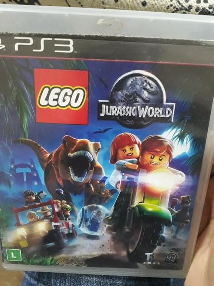 Jogo Ps3 Lego Jurassic World