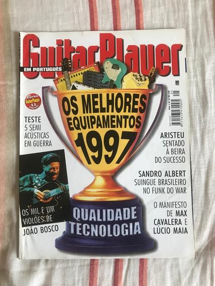 Revista Guitar Player N°25 Melhores De 1997 - Fevereiro 1998