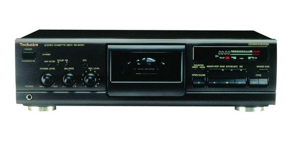 Tape Deck Technics Rs-bx501 ( Toca Fita [ Cassete { K7 }])