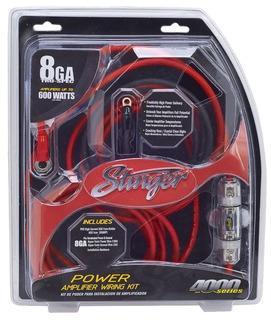 Kit De Instalación Stinger Sk4281 Calibre 8 600 Watts 60 Amp
