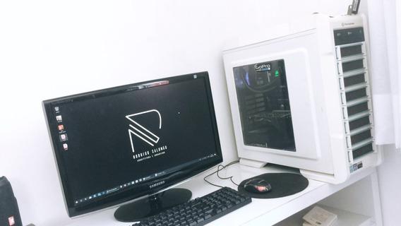 Desktop Processador I7, 16gb Ram, Water Cooler, Gtx 660