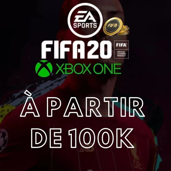 100k Coins Fifa 20 Xbox One - Entrega Imediata