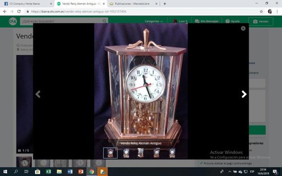 Vendo Reloj Alemán Antiguo