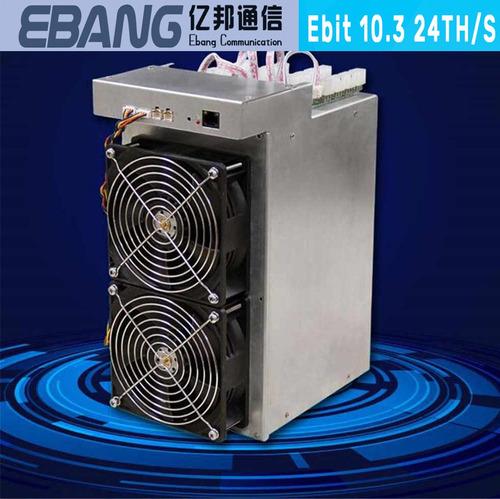 Minero Miner Btc Ebang Ebit 10.3 24th/s Nueva + Fuentes
