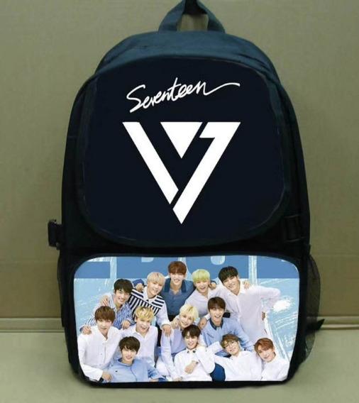 Mochila Escolar Seventeen K-pop