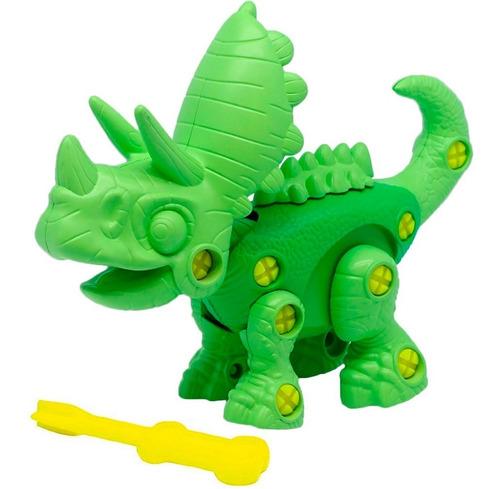 Juguete Dinosaurio Bebe Junior Surt P Armar 3 Modelos Cuotas