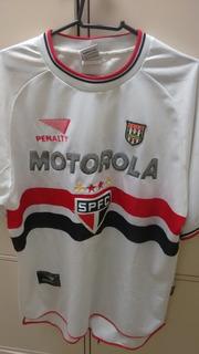 Camisa Oficial Sao Paulo Franca #09 Campeao Paulista 2000