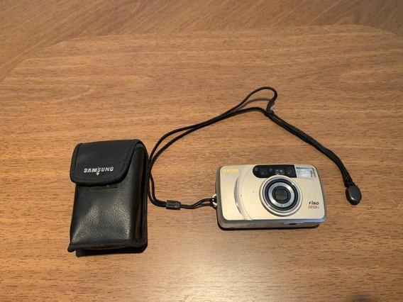 Câmera Máquina Fotográfica Samsung Fino 1050s Usada Antiga