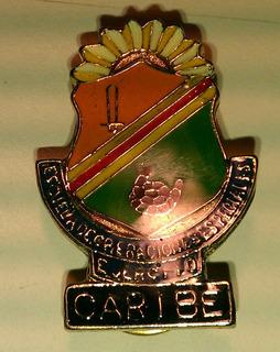 Insignia Militar Cuso Caribe
