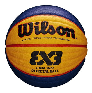 Balon Baloncesto Basketball Wilson Oficial Fiba 3x3 Wave
