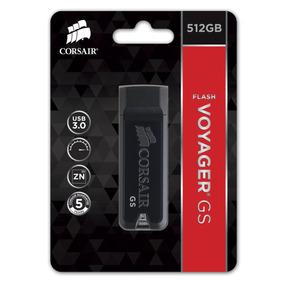 Pen Drive 512gb Usb 3.0 Flash Voyager® Gs Pronta Entrega