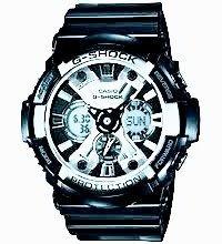 Reloj Casio G-shock Ga 200 Bw Edicion Especial Garish Black