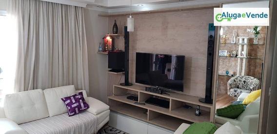 Apartamento Com 3 Dormitórios À Venda No Condomínio Supera Guarulhos, 110 M² Por R$ 670.000 - Vila Augusta - Guarulhos/sp - Ap0022