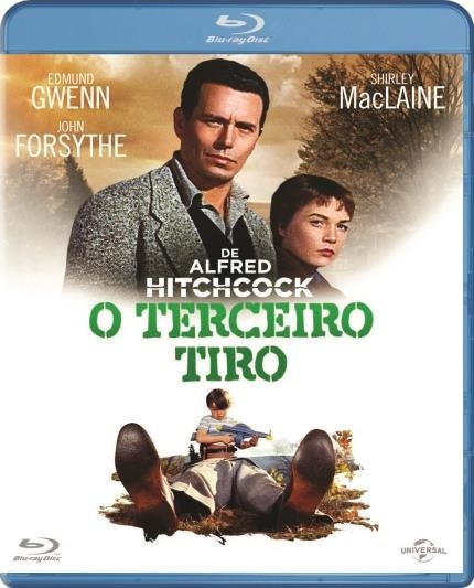 Blu Ray O Terceiro Tiro Alfred Hitchcock Original Lacrado