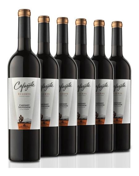 Caja De 6 Botellas Cafayate Reserve Cabernet Sauvignon 750ml