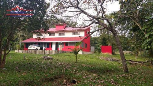 Imagem 1 de 30 de Chácara Com 5 Dormitórios À Venda, 172000 M² Por R$ 485.000,00 - Estância Antonio Novaes - Peruíbe/sp - Ch0221