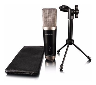 Microfono Vocal De Estudio M-audio Usb