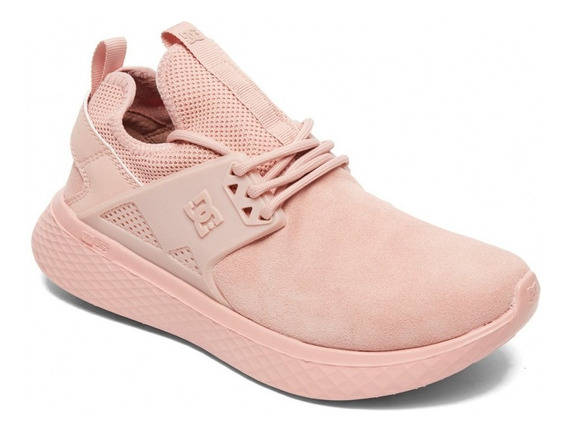 Dc Zapatillas Lifestyle Mujer Meridian Se Rosa Fkr