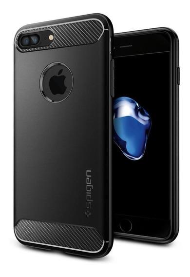 Capa iPhone 8 Plus Spigen Rugged Armor 100% Original