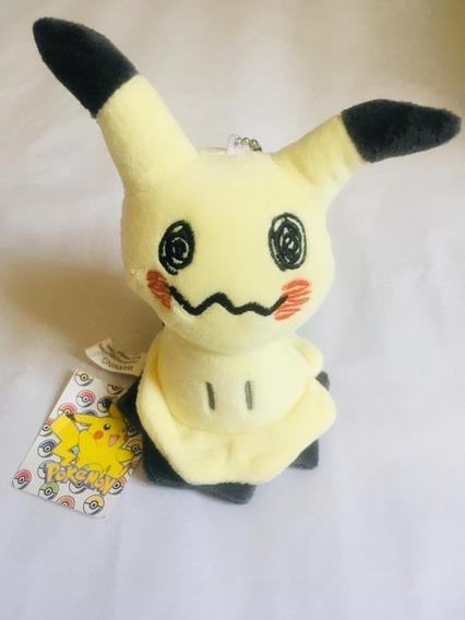 Chaveiro Pelúcia Pokémon Anime Mimikyu Unidade 15cm