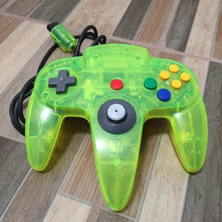 Nintendo 64 Control Extreme Green