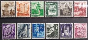 Grc96 - Alemanha Reich 1940 Governo Geral Mi# 40/51 Usados